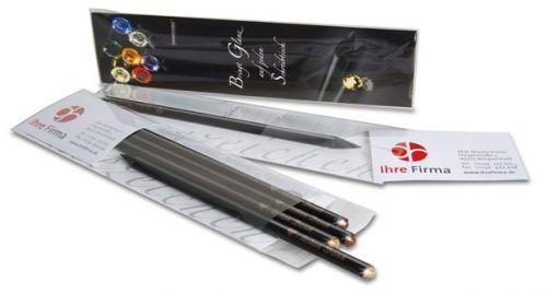 Bleistiftverpackung als Werbeartikel