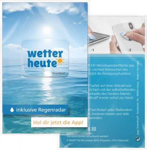 Display-Cleaner SmartKosi® 3,0x2,5 cm - 4 Wochen Lieferzeit als Werbeartikel