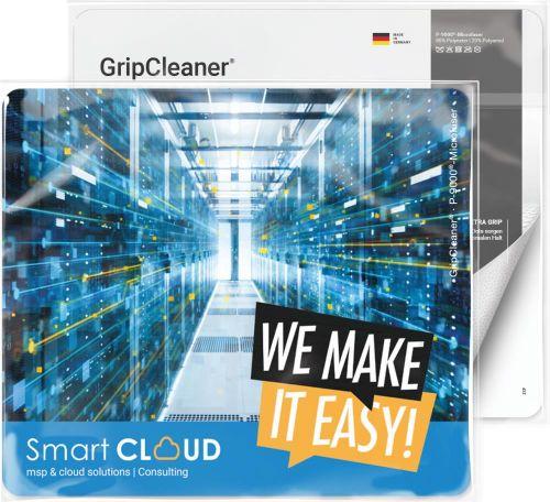 GripCleaner® 4in1 Mousepad 23x20 cm als Werbeartikel