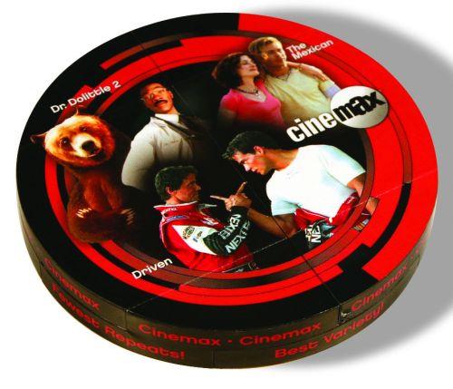 Faltwerk Magic Disk als Werbeartikel