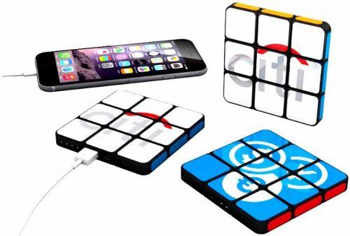 Original Rubiks Powerbank als Werbeartikel