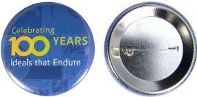 Button mit Nadel 56 mm inkl. 4c-Werbedruck als Werbeartikel