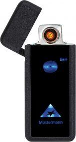 Zorr Lichtbogen USB Feuerzeug Leucht-Logo als Werbeartikel