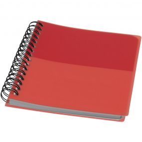 Colour Block A6 Notizbuch als Werbeartikel