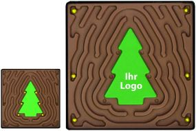 Spiel Tannenbaum-Challenge V - Vollmilch als Werbeartikel