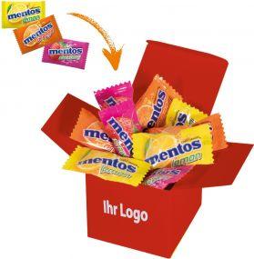 Präsentset Color Mentos Box als Werbeartikel