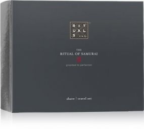 The Ritual of Samurai Travel Shave Set als Werbeartikel