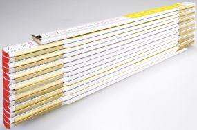 Holz-Gliedermaßstab Serie 600 3m als Werbeartikel