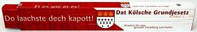 Zollstock Dat Kölsche Grundjesetz Serie 700 2m als Werbeartikel
