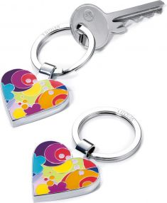 Schlüsselanhänger I Love Shopping als Werbeartikel