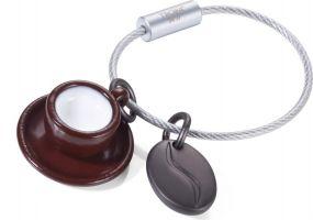 TROIKA Schlüsselanhänger COFFEE 2 GO als Werbeartikel