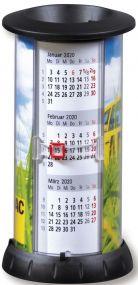 Tischkalender Litfasssäule, deutsch als Werbeartikel
