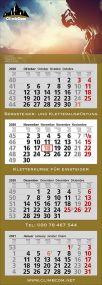 4 Monats-Kalender Trend 4, 4-sprachig als Werbeartikel