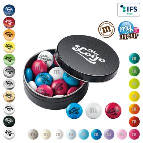My M&Ms® Metallbox 20 g als Werbeartikel