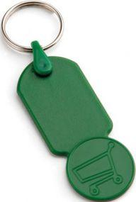 FUNUS Schlüsselanhänger mit Kopf in Form von 50 Cent als Werbeartikel