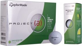 Golfball TaylorMade Project (a), inkl. Werbedruck