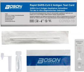 Boson Covid-19 Antigen Schnelltest als Werbeartikel