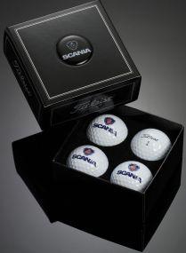 Titleist 4er Golfball Box inkl. Doming als Werbeartikel