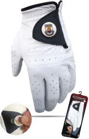 Leder Handschuh mit Ballmarkierer als Werbeartikel