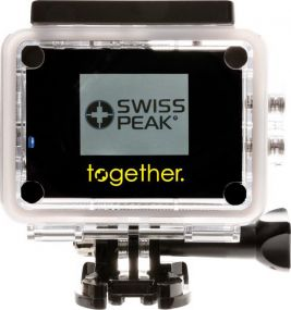 ActionCam Set Swiss Peak als Werbeartikel