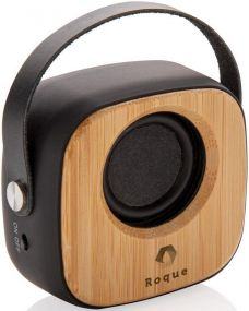 Wireless Fashion Speaker 3W aus Bambus als Werbeartikel