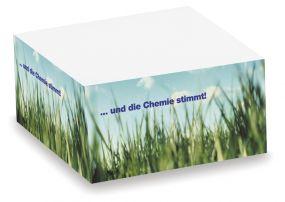 Zettelblock Small mit Digitaldruck als Werbeartikel