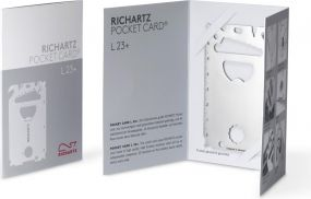Richartz Multitool POCKET CARD L 23+ als Werbeartikel