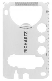 Restposten Richartz Multitool POCKET CARD M 19+ als Werbeartikel
