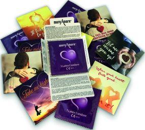 Kondome als Werbeartikel inkl. 4c Druck als Werbeartikel