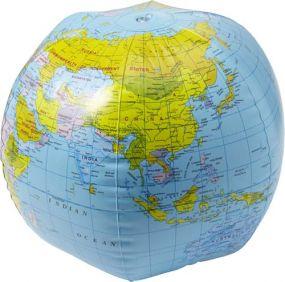 Aufblasbarer Wasserball Globus als Werbeartikel als Werbeartikel