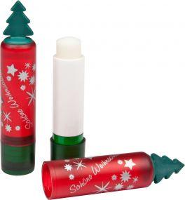 Lippenpflegestift LipTree mit Tannenbäumchen als Werbeartikel