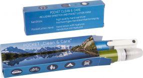 Pocket Set Clean u. Care Handpflege indiv. Box als Werbeartikel