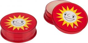 Lippenpflege im Döschen LipJar Label als Werbeartikel