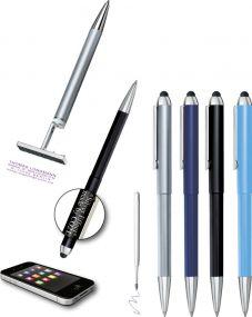 3in1 Touch Pen mit Stempel als Werbeartikel