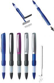 Kugelschreiber mit Stempel Switch als Werbeartikel