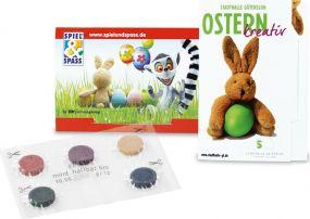 Eierfarben Colour-Card Five als Werbeartikel