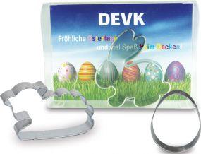 Backförmchen Box Ostern - Hase 2 als Werbeartikel