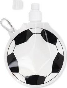 Faltbare Trinkflasche Fußball als Werbeartikel als Werbeartikel