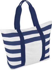 Gestreifte Strandtasche als Werbeartikel als Werbeartikel