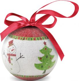 Weihnachtsbaumkugel als Werbeartikel als Werbeartikel