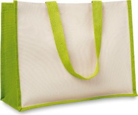 Jute/Canvas Shopper als Werbeartikel