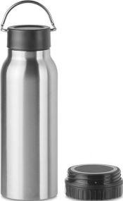 Trinkflasche mit induktiver Ladestation als Werbeartikel