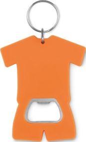 Schlüsselring mit Kapselheber T-Shirt als Werbeartikel