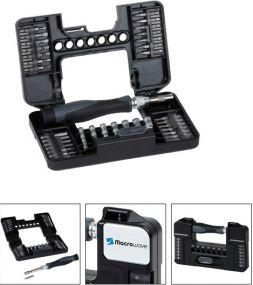 Feinbit-Schraubendreher-Set Bits Stecknüsse Tool Case M als Werbeartikel
