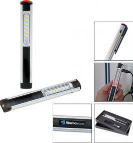 Aufladbare Arbeitsleuchte Profi Alu Compact Light 170 L als Werbeartikel