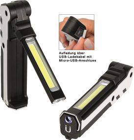 Aufladbare LED Leuchte Wave Light L 380 L als Werbeartikel