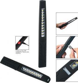 Aufladbare LED Leuchte Profi Inspection Light 400 L als Werbeartikel