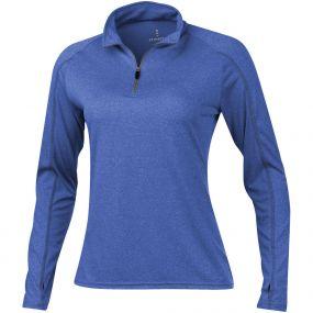 Taza Damen Langarm Shirt mit 1/4 Reißverschluss als Werbeartikel