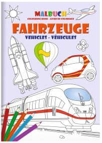 "STAEDTLER Malbuch-Set DIN A5 ""Fahrzeuge"" als Werbeartikel"