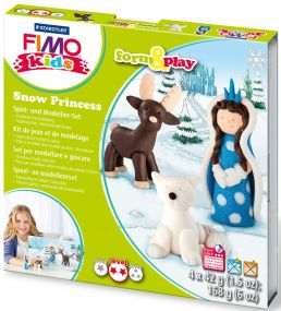"""Staedtler FIMO kids Modellierset """"form&play"""", Snow"""